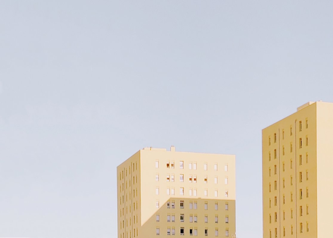 pastel building photography by Margarida Pereira