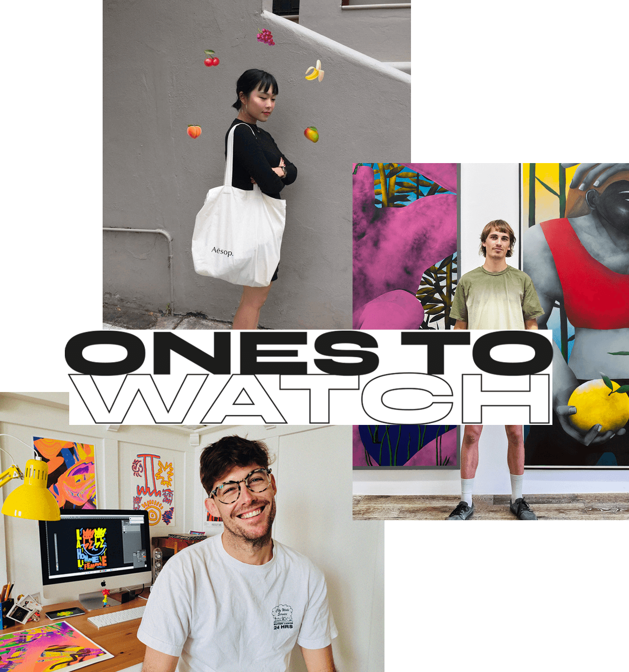 ones to watch drool artists