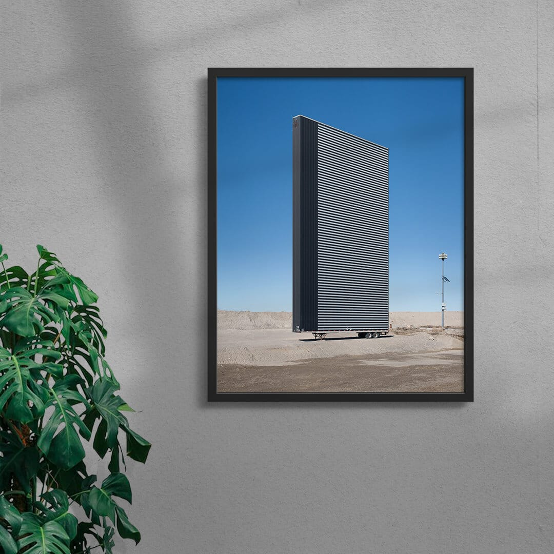 Antistructure 2 Photo Print By Creative Photographer Alex Lysakowski Framed Black
