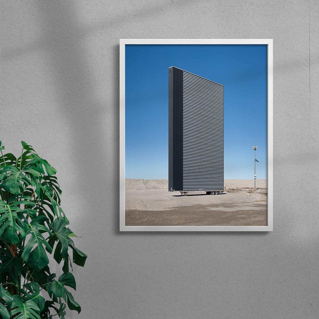 Antistructure 2 Photo Print By Creative Photographer Alex Lysakowski Framed White
