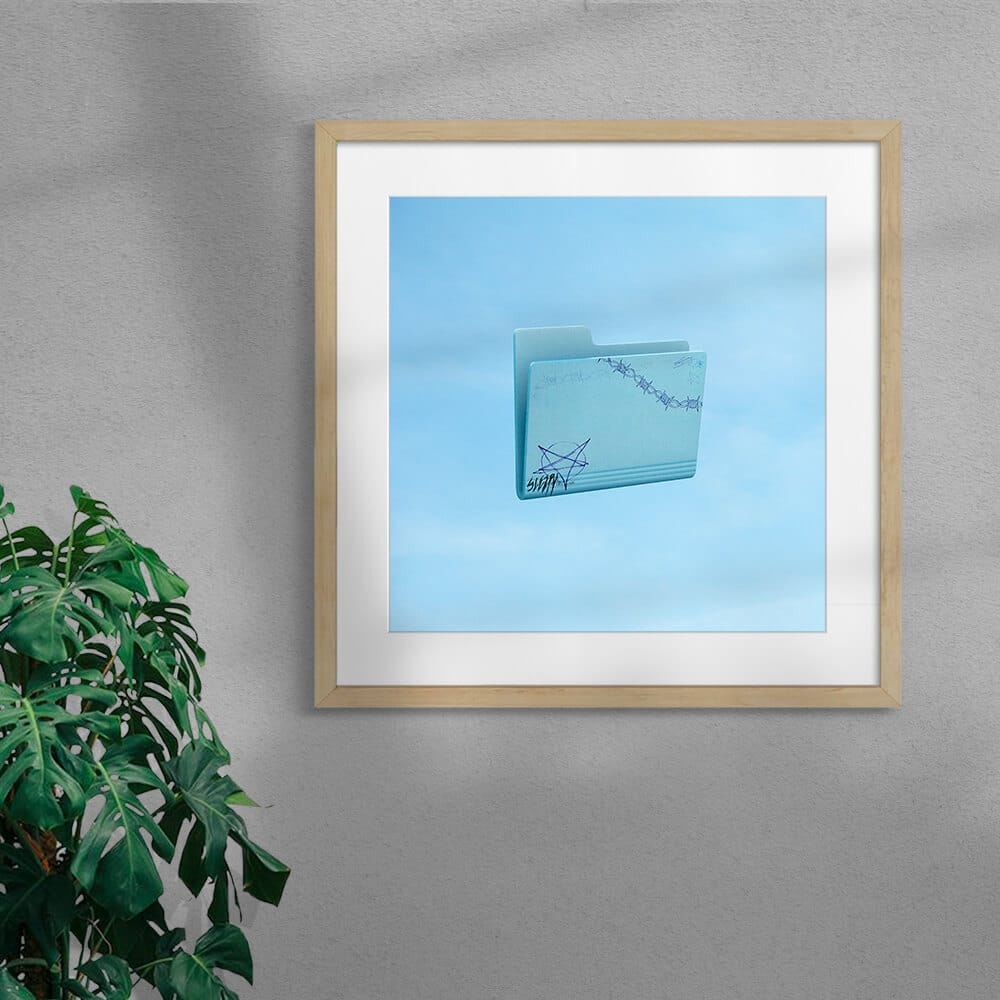 Emo By Scott Kelly Framed Mounted Natural