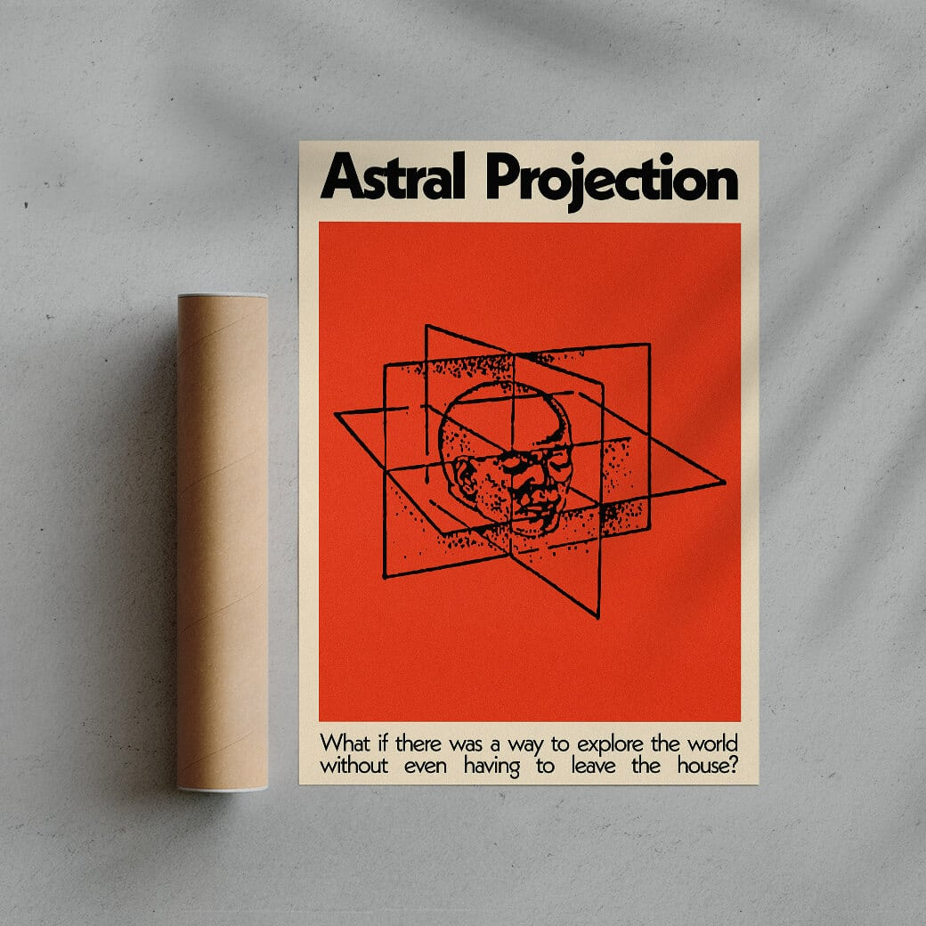 Astral Projection Graphic Design Print By George Kempster