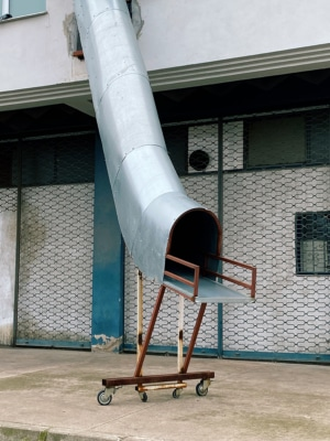 Pipe Slide Photography Print