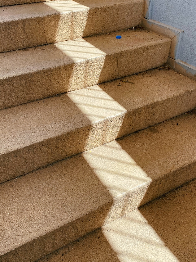 Shadow On A Step Photography Print
